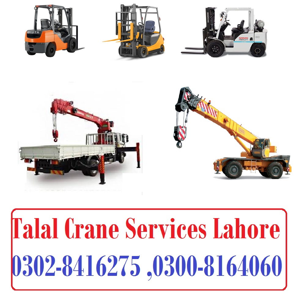 crane rental service in lahore 03028416275 Crane Lifter Services